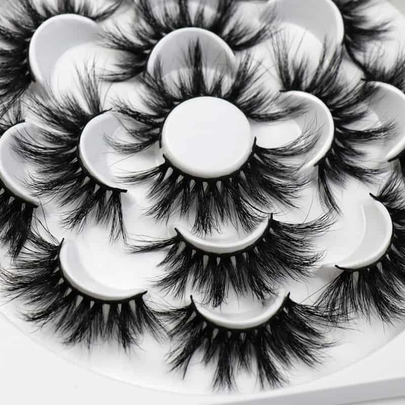 wholesale mink lashes 25mm lashes