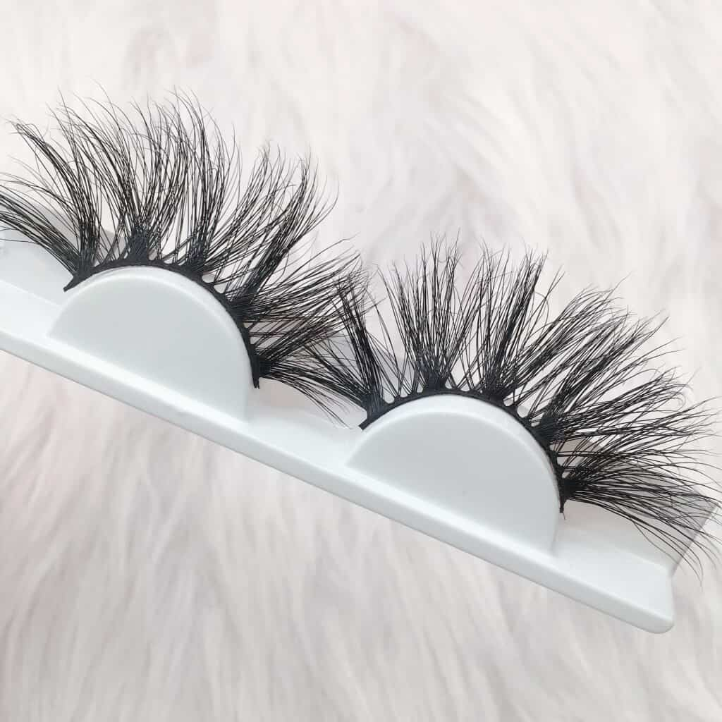 mink eyelashes suppliers wholesale 25mm mink lashes