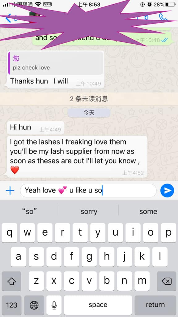 wholesale mink strip lashes