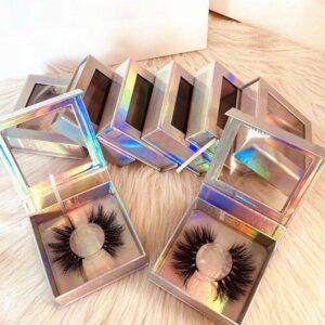 private label custom eyelash packaging
