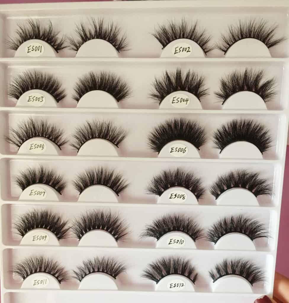 16mm mink lashes wholesale