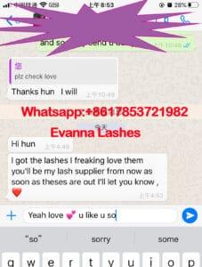 16mm mink eyelashes wholesale feedback
