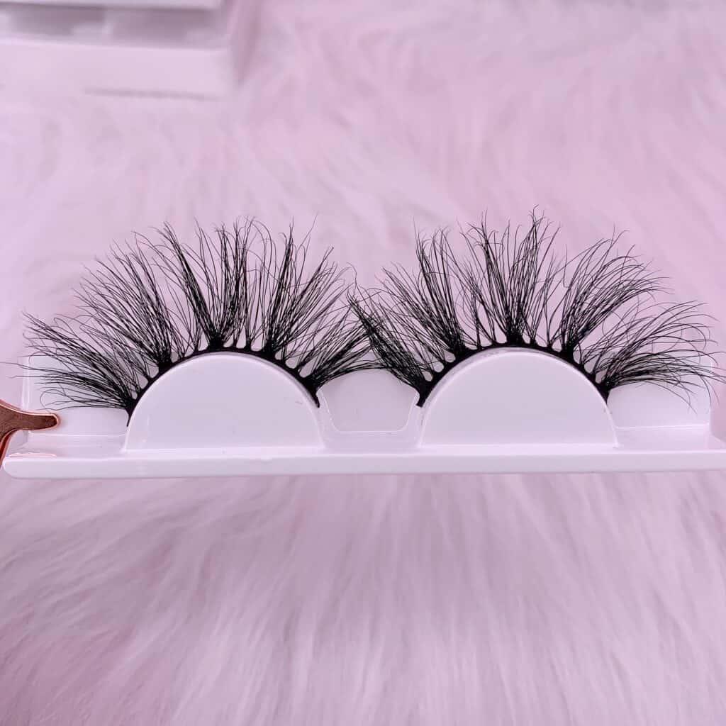 wholesale lashes usa 25mm mink eyelashes
