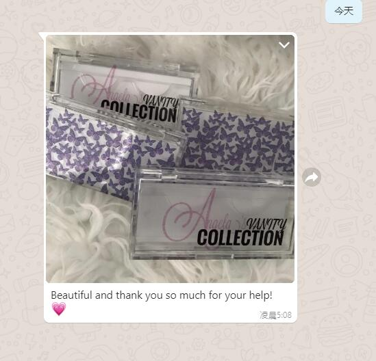 16mm mink lashes wholeslae customer review