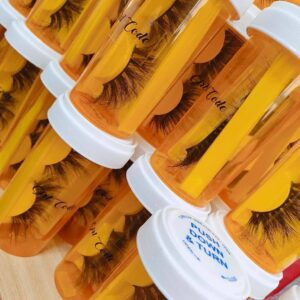 wholesale mink lashes and packaging Customized lashes package