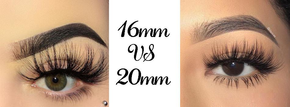 16mm mink lashes wholesale vs 25mm mink lashes wholesale