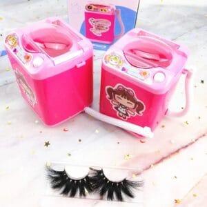 eyelashes washing machine eyelash clearner