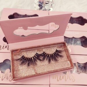 wholesale 20mm mink lashes vendors with custom lashes package