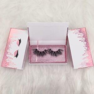 wholesale flash eyelash packaging box