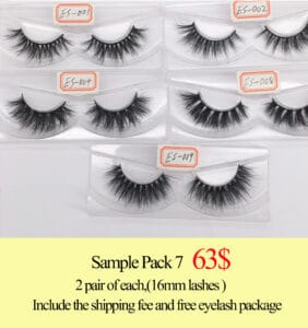Wholesale mink lash vendors do 3d mink lashes