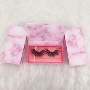 wholesale mink lashes and packaging custom eyelash boxes