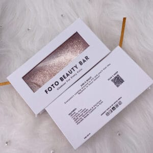 wholesale custom eyelash packaging box with private label logo