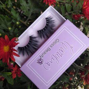 private label eyelash packaging