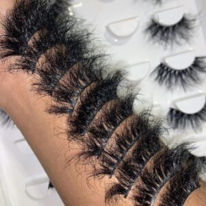 eyelash wholesale vendor wholesale 25mm mink lashes