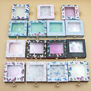 eyelash packaging boxes private label eyelash packaging