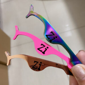 custom eyelash tweezers wholesale