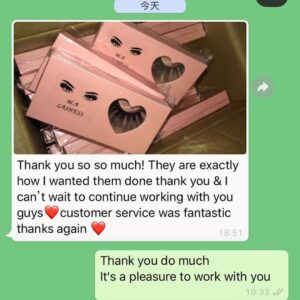 Wholesale eyelashes review lashes review