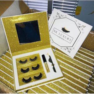 wholesale mink lashes vendors custom eyelash books