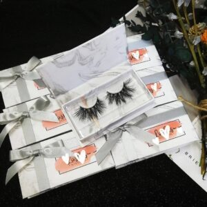wholesale mink eyelashes and custom eyelash packaging