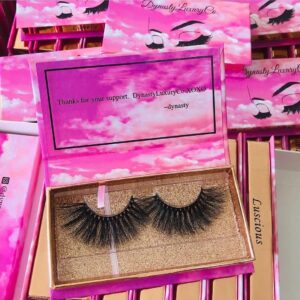 wholesale mink lash vendors with custom eyelash packaging