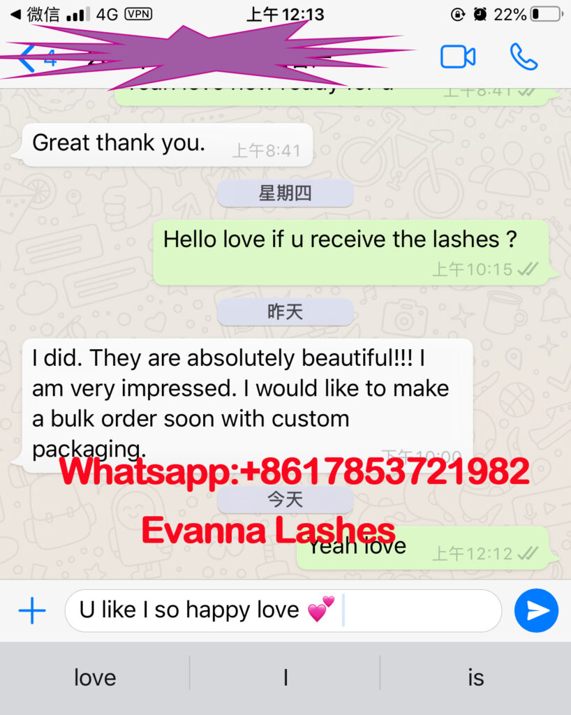 3d mink lashes wholesale from Evanna lashes
