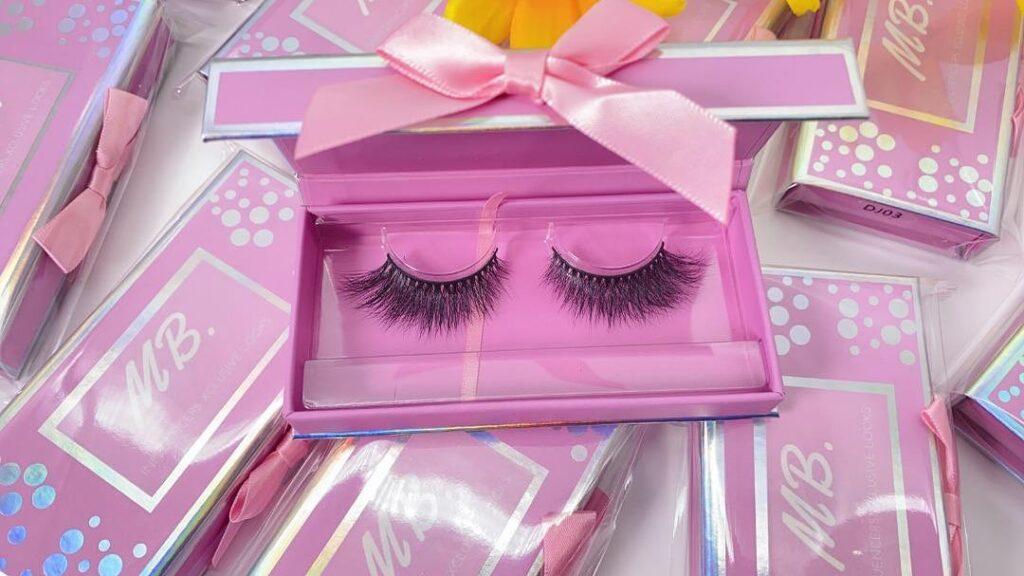 wholesale mink lash vendors with eyelash packaging