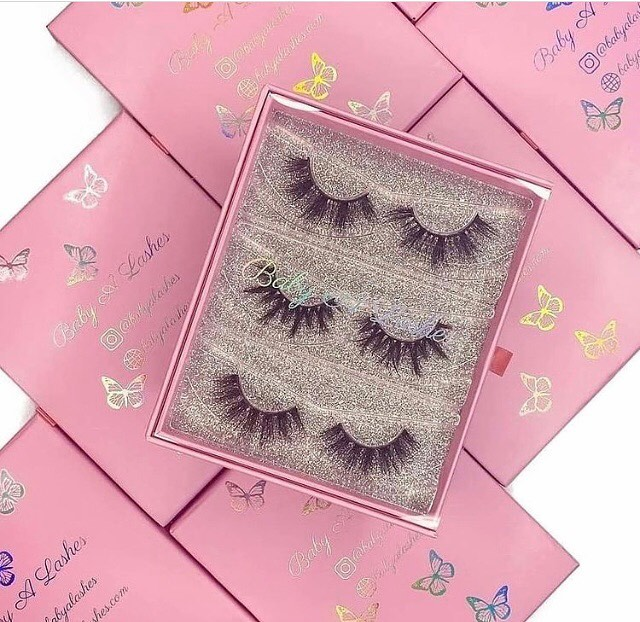 mink lash vendors wholesale custom eyelash packaging
