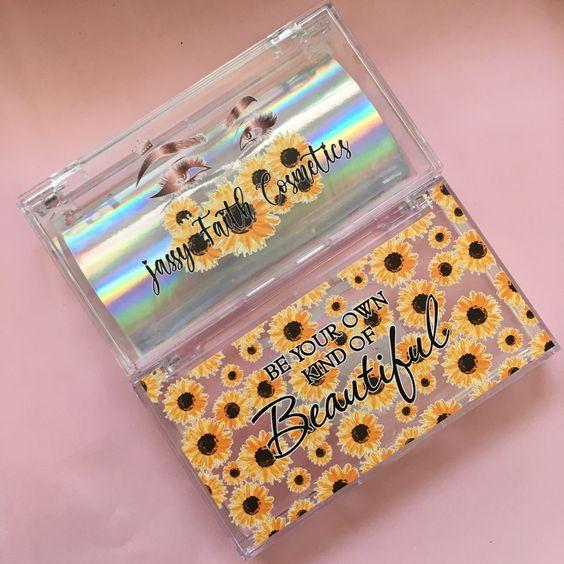 custom eyelash packaging PC07