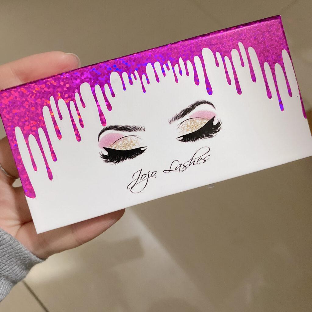 printed eyelash packaging boxes EC30