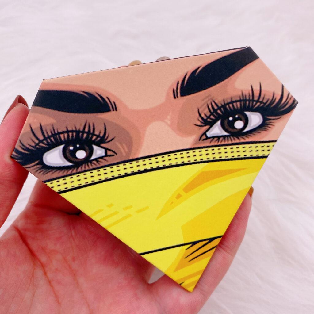 Diamond eyelash package 116