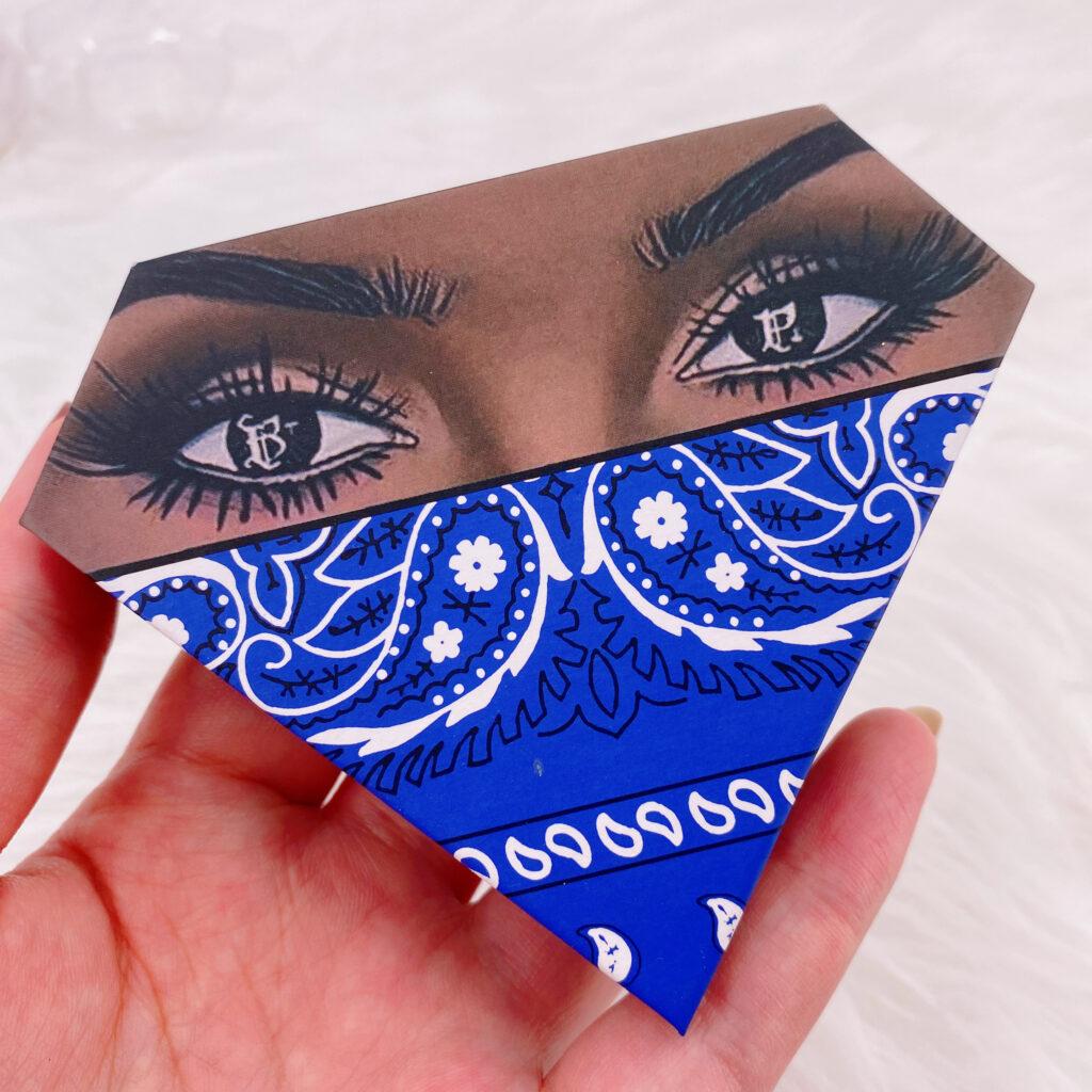 Diamond eyelash package 118
