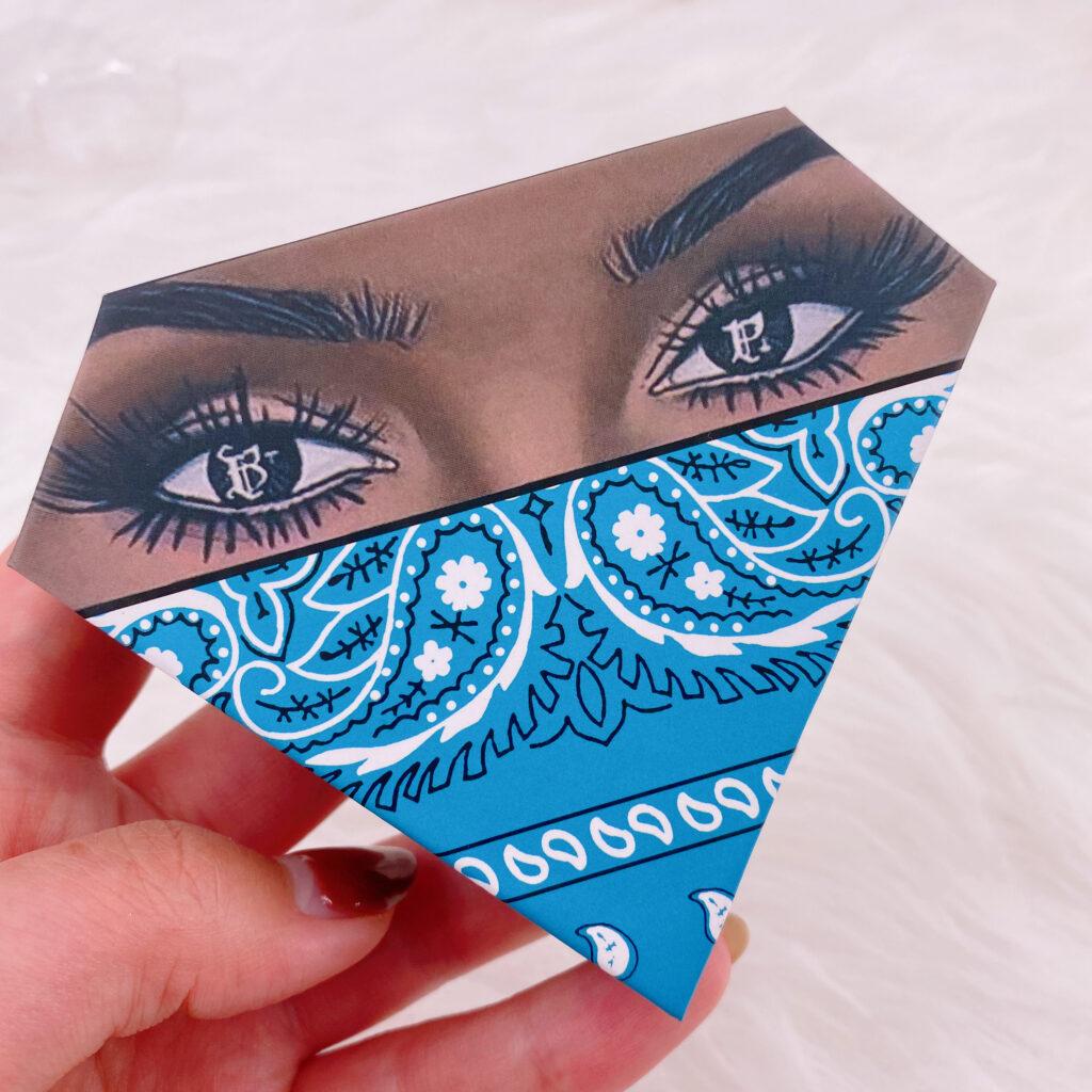 Diamond eyelash package 119