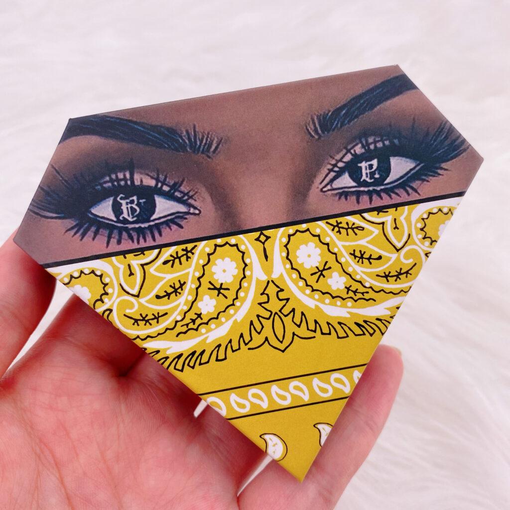 Diamond eyelash package 122