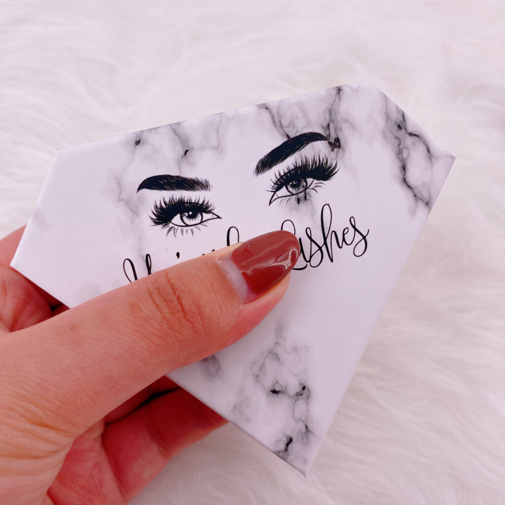 Diamond eyelash package 127