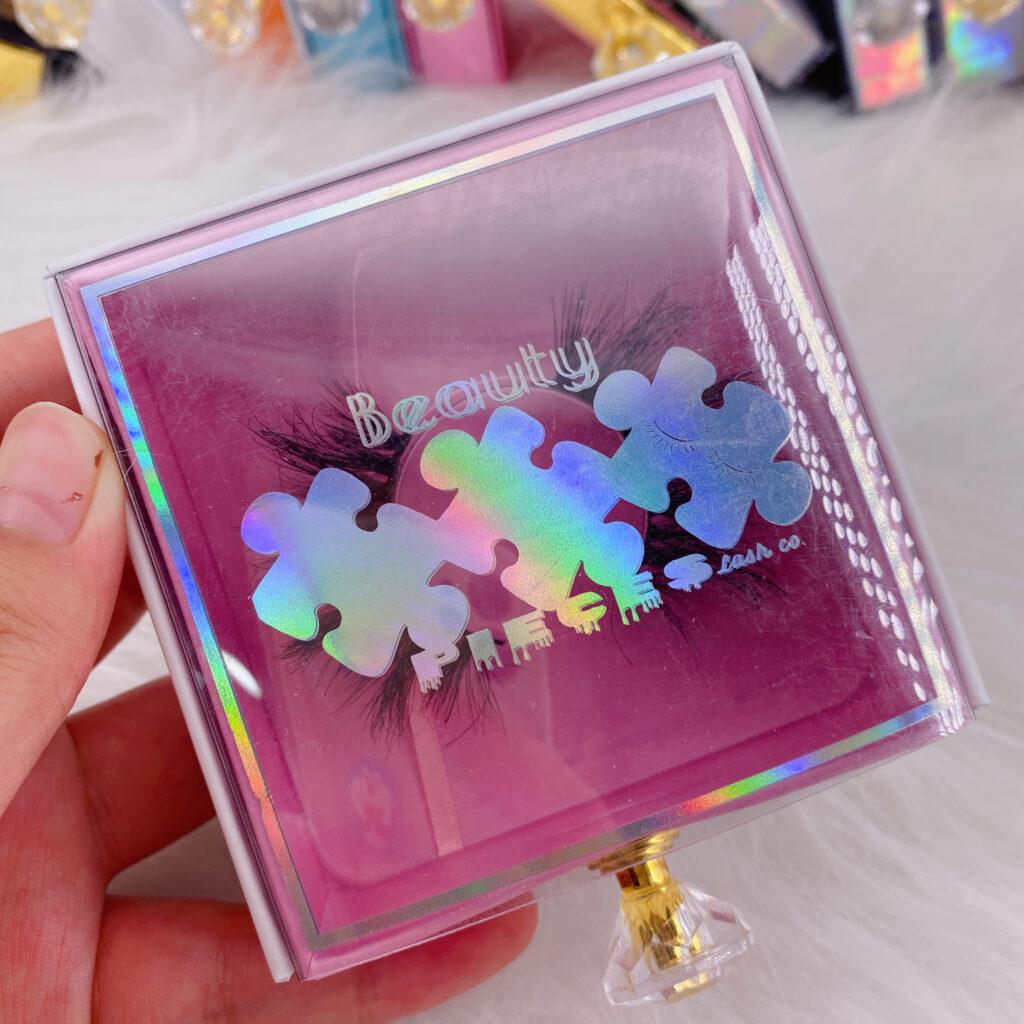 Square Eyelash packaging 137