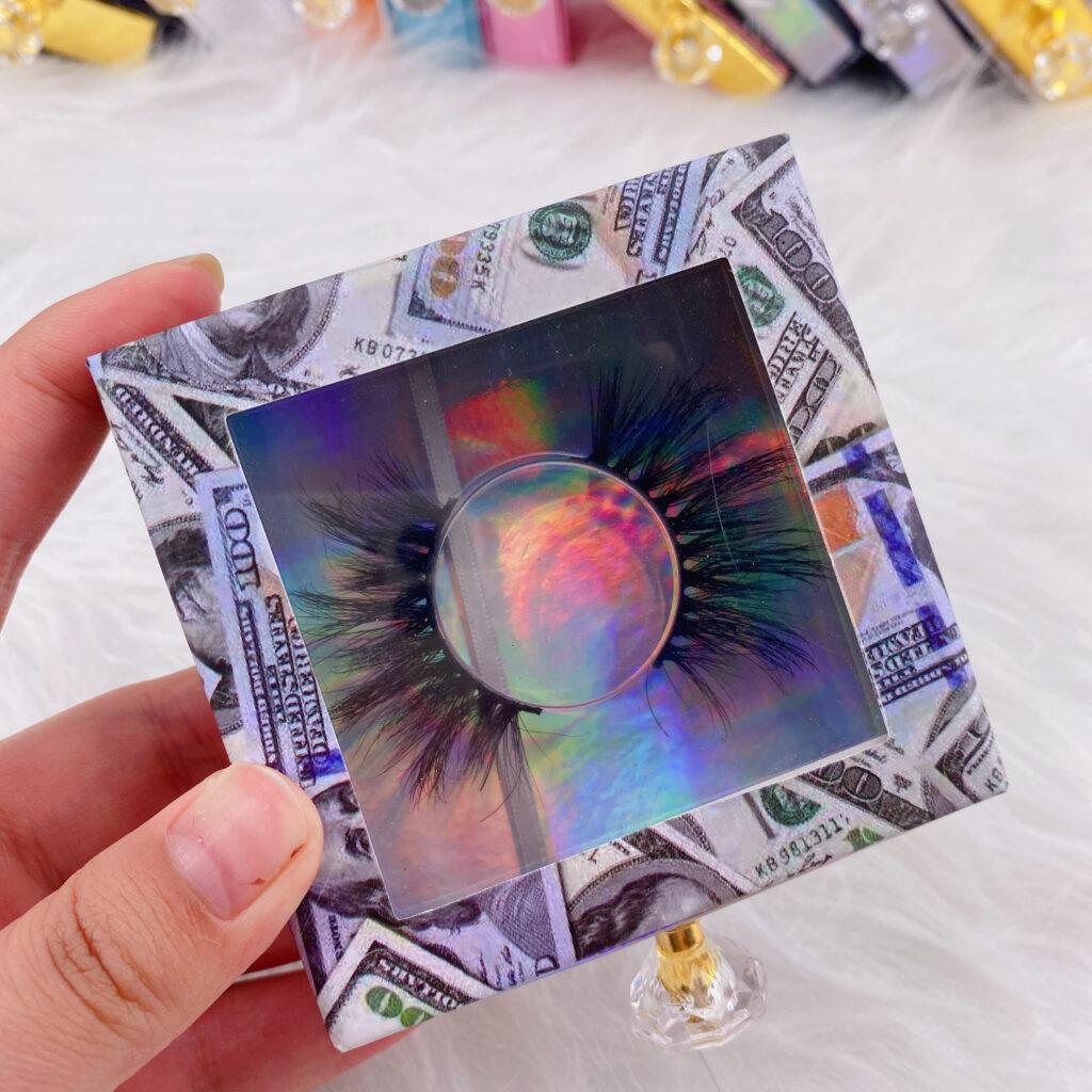 Square Eyelash packaging 138