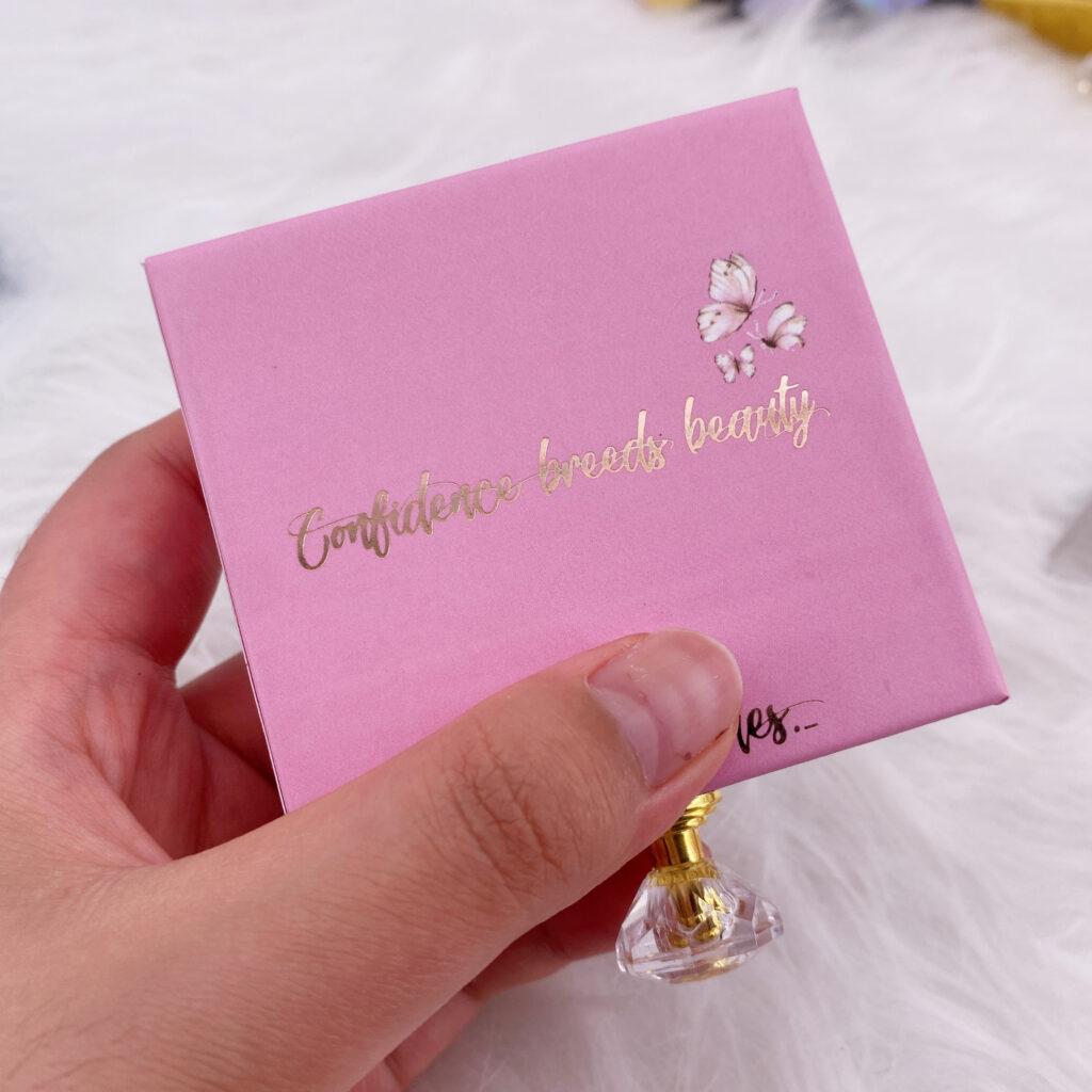 Square Eyelash packaging 144
