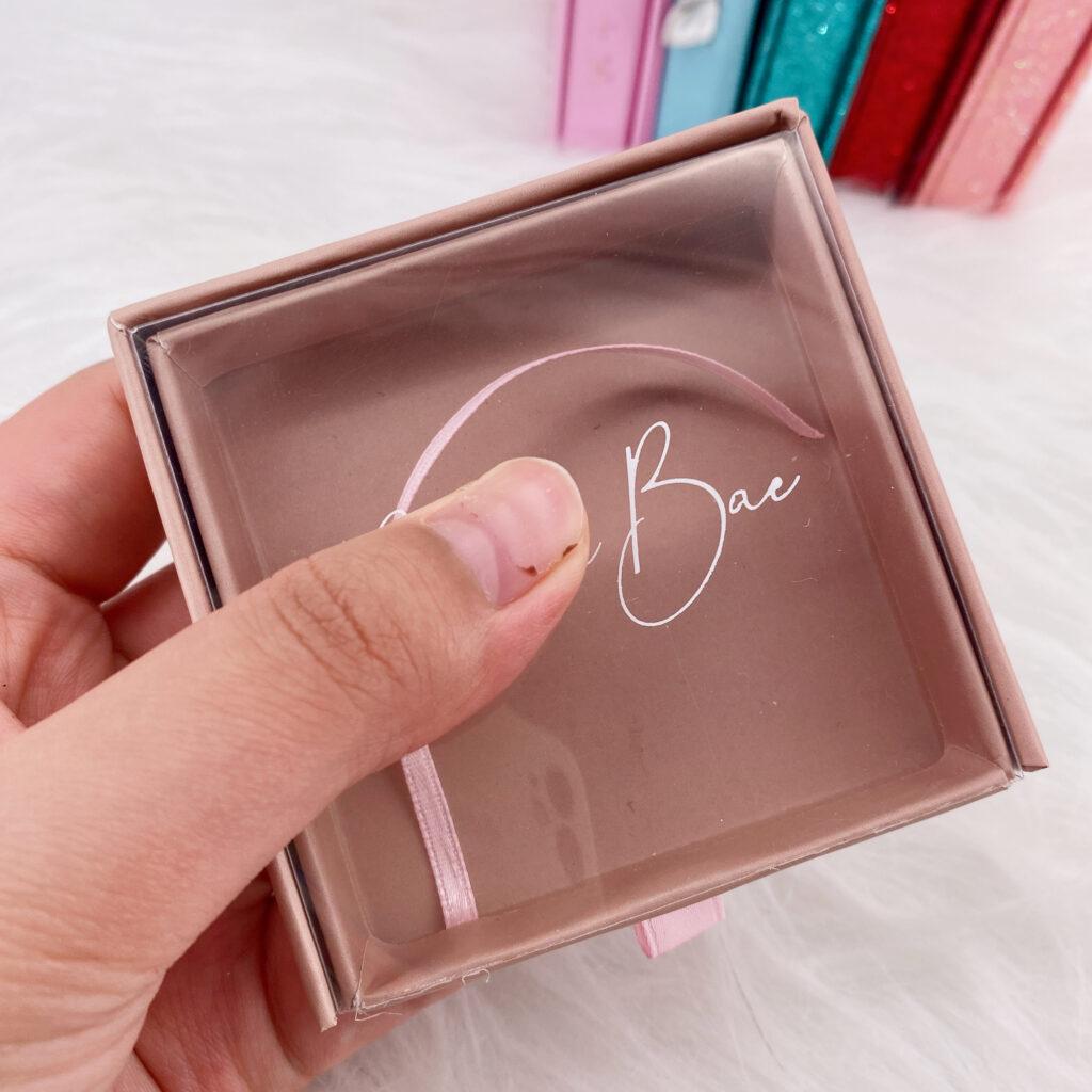 Square Eyelash packaging 157