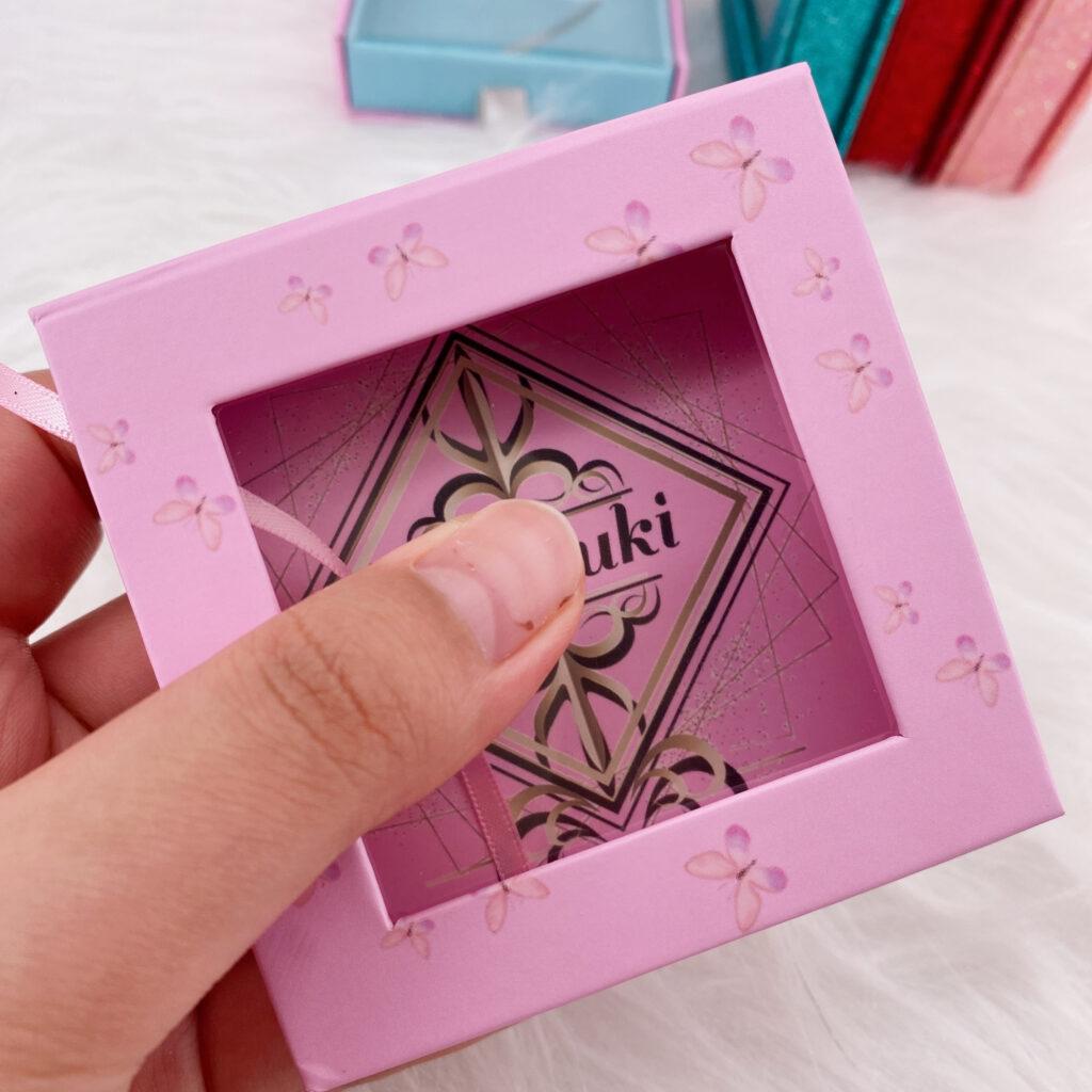 Square Eyelash packaging 158