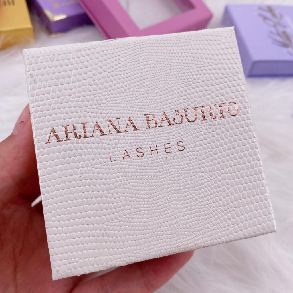 Square Eyelash packaging 160