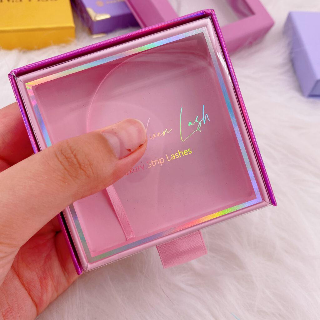 Square Eyelash packaging 161
