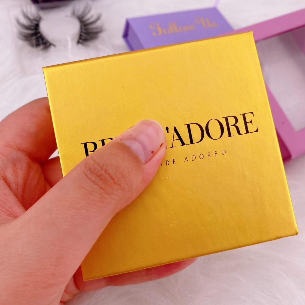 Square Eyelash packaging 167