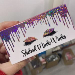 custom mink lash packaging EC31