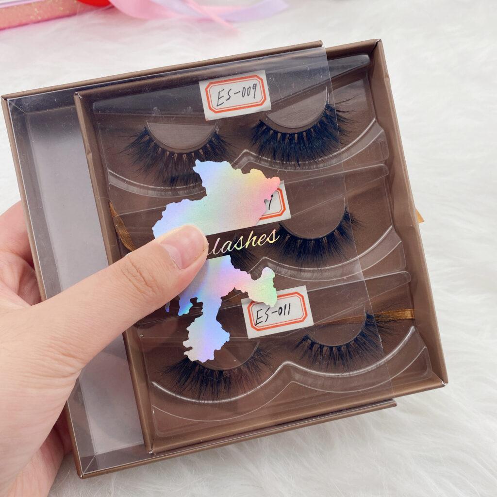 custom eyelash packaging lash book set