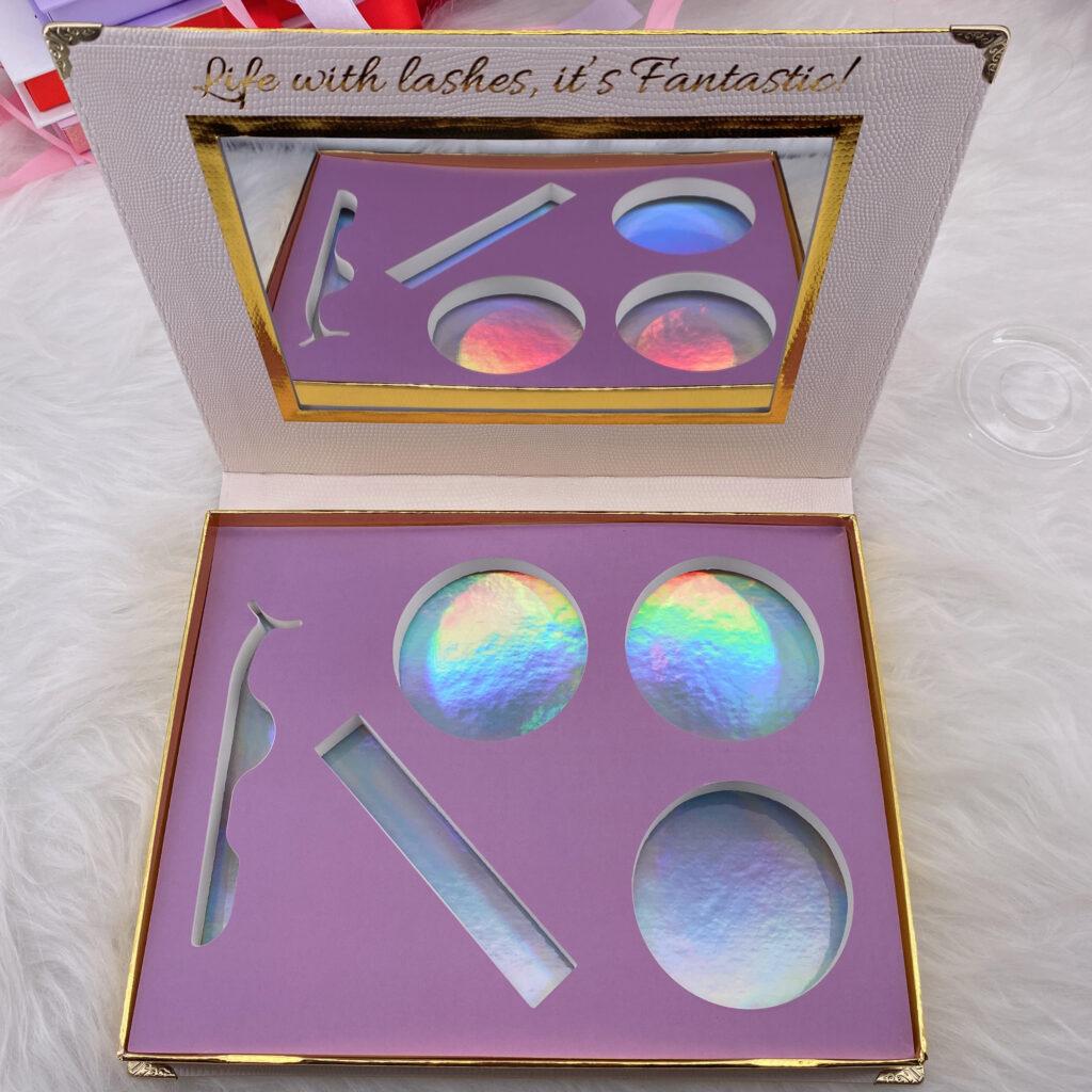 create your own eyelash packaging eyelash book 11