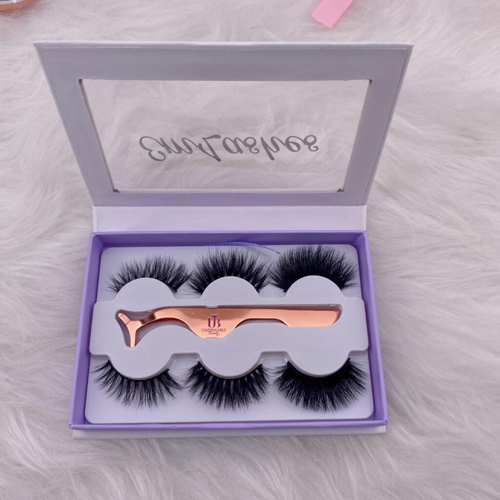 custom eyelashes boxes lash books 15