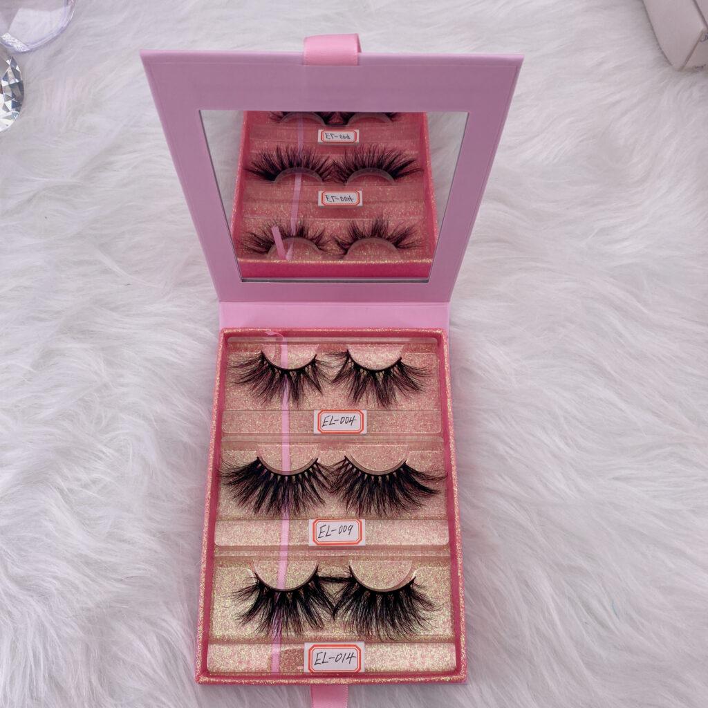 eyelashes packaging box lash book 19