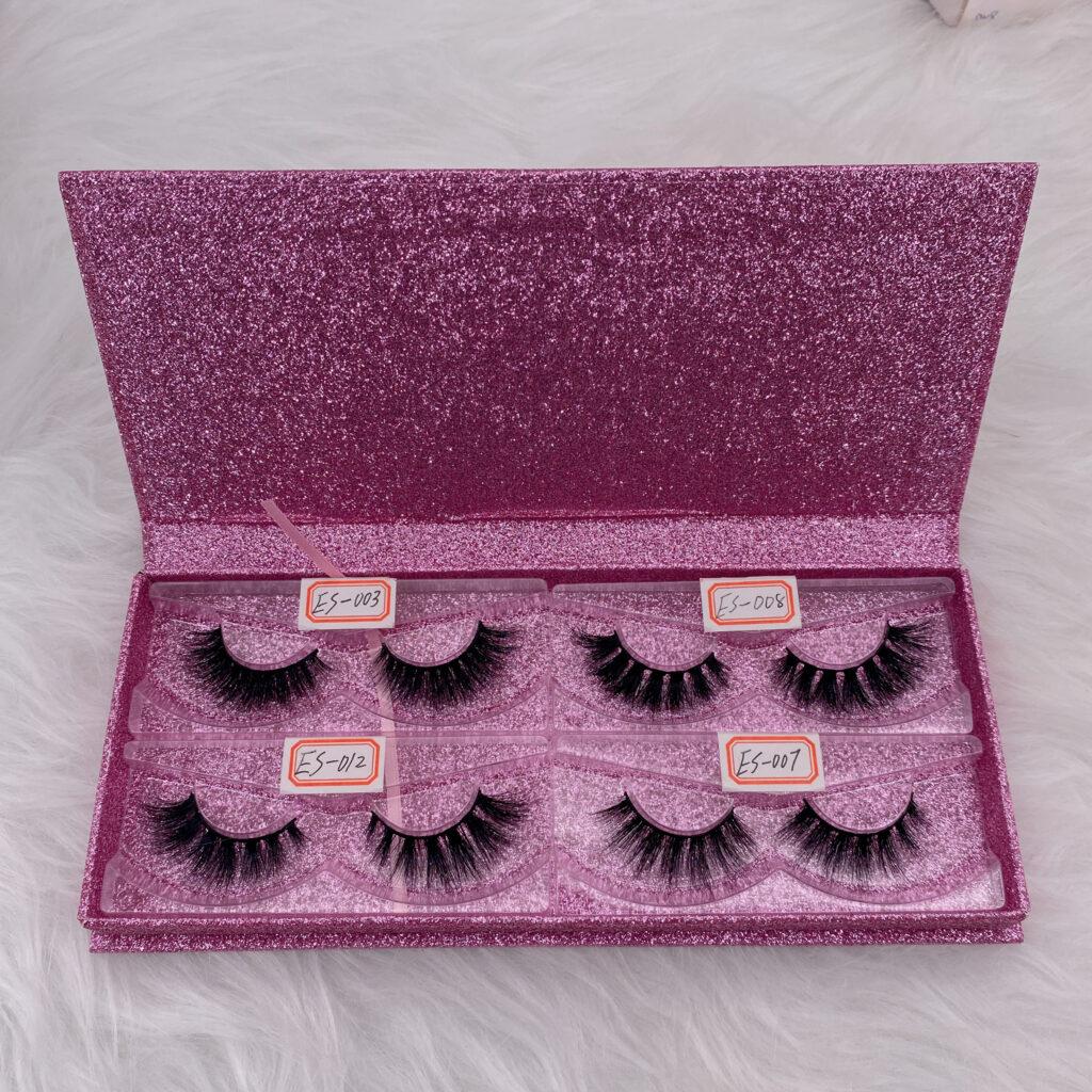 eyelashes box wholesale lash book set 26