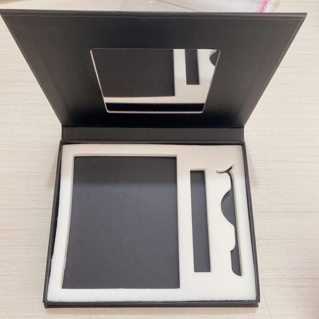 custom eyelash packaging box lash books