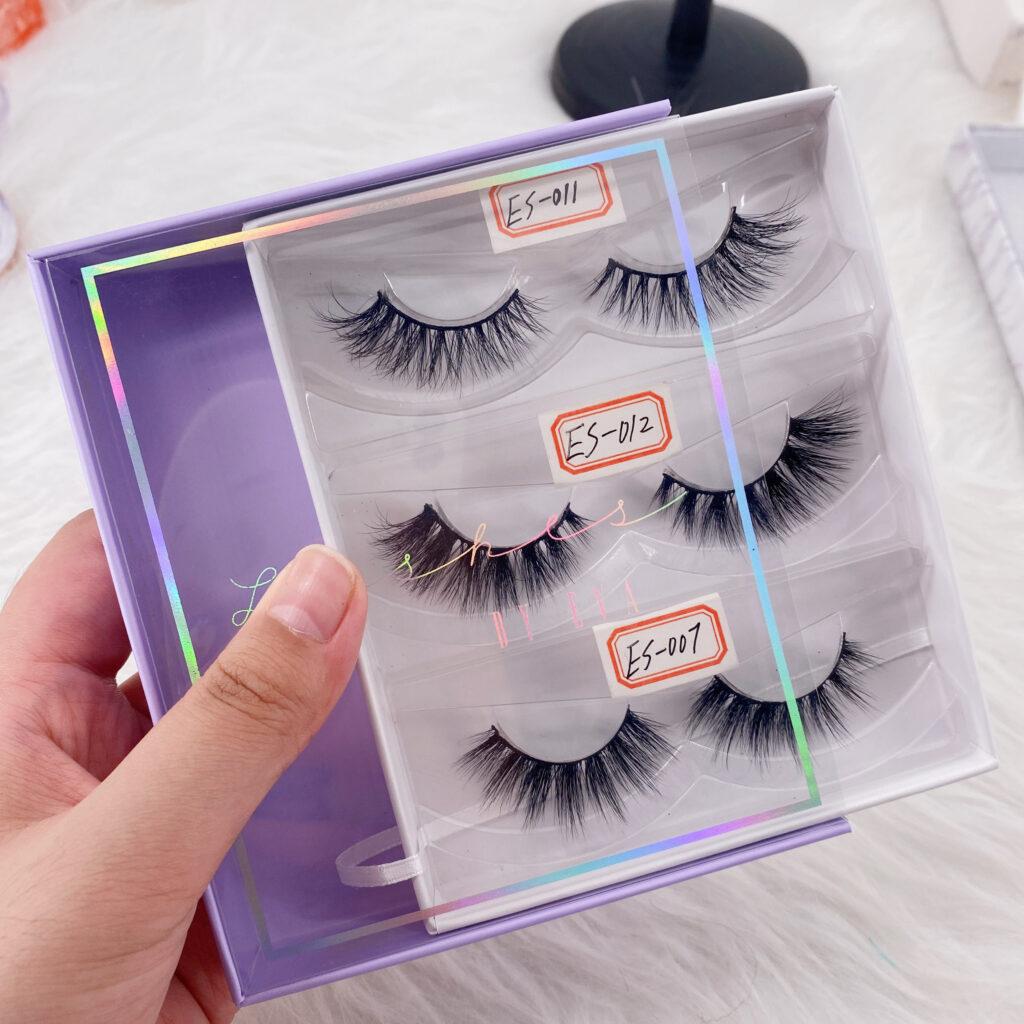 cheap custom eyelash boxes lash book